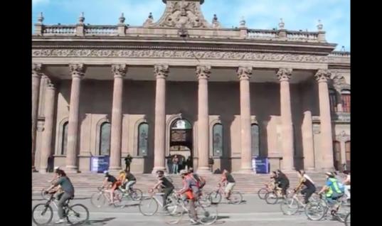 ¡Masa crítica ciclista!