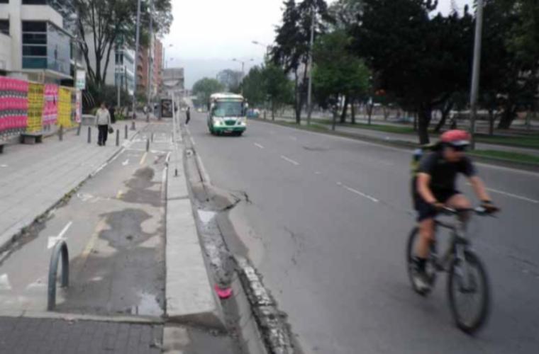 Razones por las que no se debe construir ciclovías en las banquetas