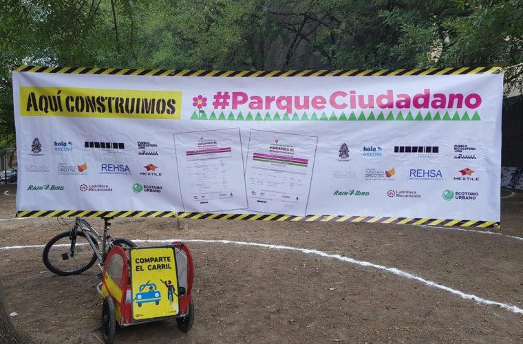 Arranque de obras del Parque Ciudadano || Comunicado