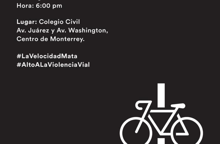 Bicicleta Blanca en memoria de Antonio Flores Hernández (57) – 14 de enero 2018