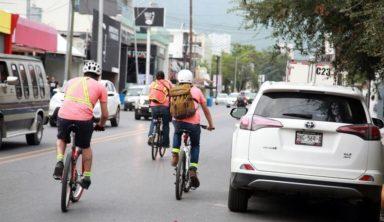 Ganan las bicicletas en reto de movilidad (El Norte)