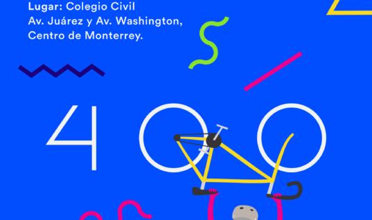 ¡Llegamos a la pedaleada No. 400! – Saca la bici y #Haztebicible este 20 de enero