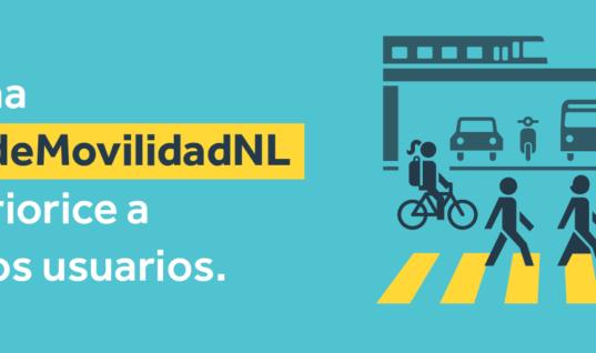 Presentación del Decálogo para una nueva #LeydeMovilidadNL