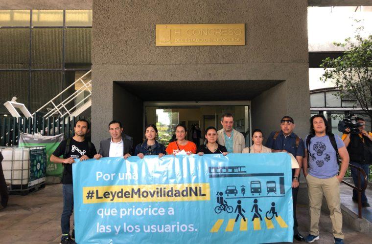 Presentación de iniciativa de #LeyDeMovilidadNL