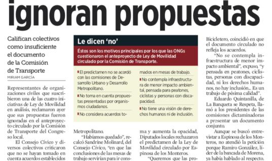 Acusan a Diputados: ignoran propuestas – El Norte