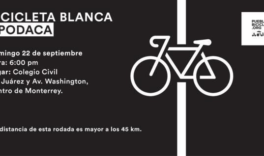 Rodada e instalación de Bicicleta Blanca en memoria de Martín Merlon Ovalle – 22 de septiembre 2019