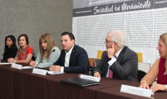 Presentan iniciativa de ley para impulsar a la sociedad civil de Nuevo León