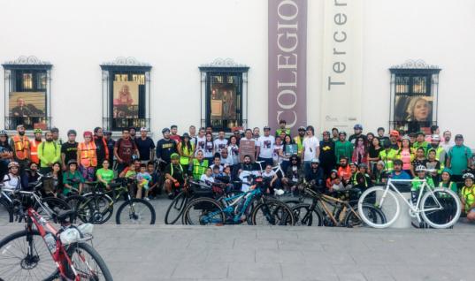 Crónica de la instalación de Bicicleta Blanca en memoria de Felipe del Rivero / por Ximena Peredo