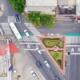 Dan ejemplo de calle con prioridad peatonal y ciclista