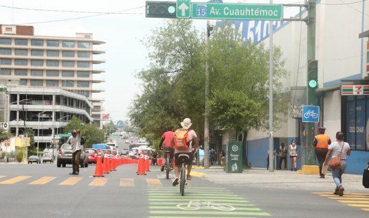 Urbanismo Táctico en Av. Cuauhtémoc – COMUNICADO