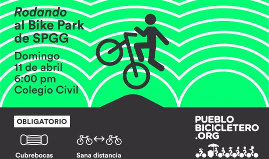 Rodando al Bike Park de SPGG