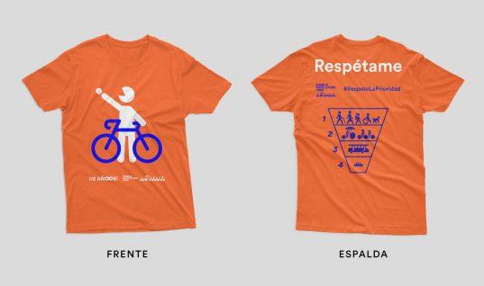 Preventa de playeras del 12º aniversario de Pueblo Bicicletero