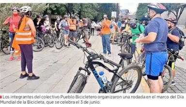 Exigen a autoridades cumplir con la señalización ciclista / El Norte