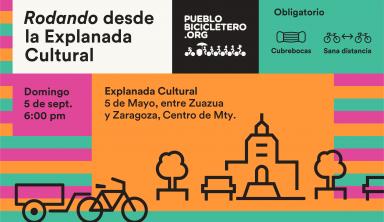 Rodando desde la Explanada Cultural – 5 de septiembre