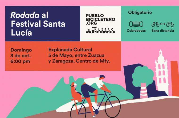 Rodada al Festival Santa Lucía  – 3 de octubre