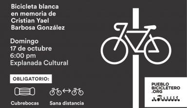 2021_10_17_PB - bicicleta blanca Cristian Yael Barbosa Gonzalez